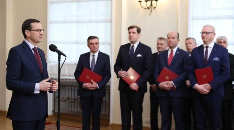 Ceremonia wręczenia aktu powołania na stanowisko wojewody fot. UW