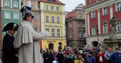 Dąbrowski na Starym Rynku fot. UMP