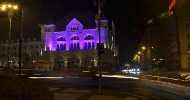 Fioletowy Poznań dla Wcześniaków