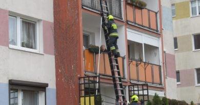 interwencja strażaków z OSP Czerwonak fot. Straż Gminna Czerwonak