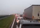 Poznań: Wypadek na A2. Autostrada zablokowana w obie strony!
