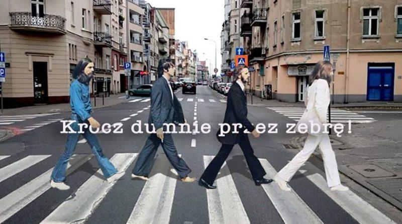 Krocz dumnie przez zebrę fot. FB akcji