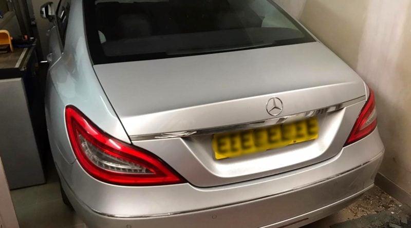 Mercedes fot. policja