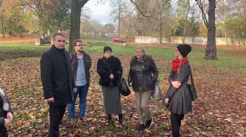 Park Selągowski robocze spotkanie fot. FB