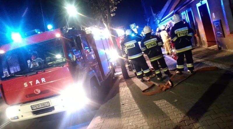pożar fot. OSP Czarny Sad