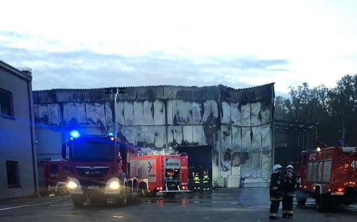 Pożar Koźmin fot.OSP Jaraczewo