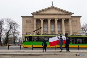 trzy tramwajarki fot. slawek wachala 32 300x200 - Trzy tramwajarki. Wspomnienie i inscenizacja z okazji Dnia Tramwajarza