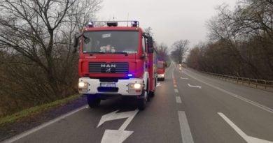 Wypadek 3 fot. OSP Wysoka