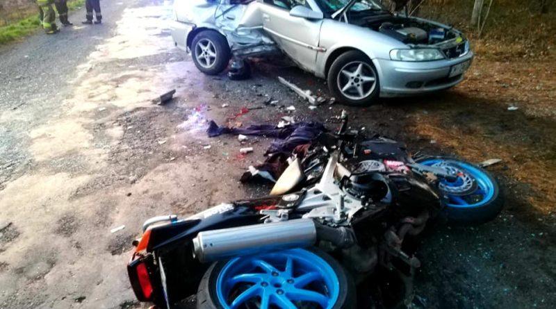 Wypadek 6 fot. OSP Cieszków