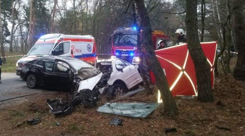 Wypadek fot. OSP Golina