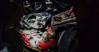 Wypadek fot. OSP Witkowo