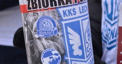zbiórka kibiców Lecha i WOT fot. Karolina Adamska