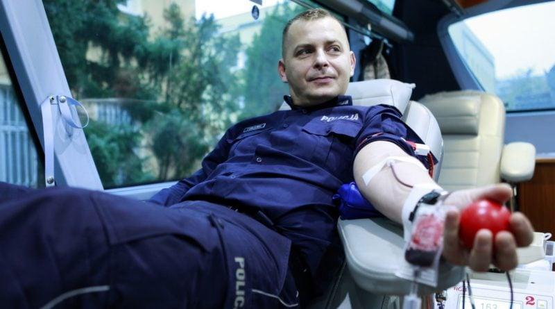 Zbiórka krwi 5 fot. Policja