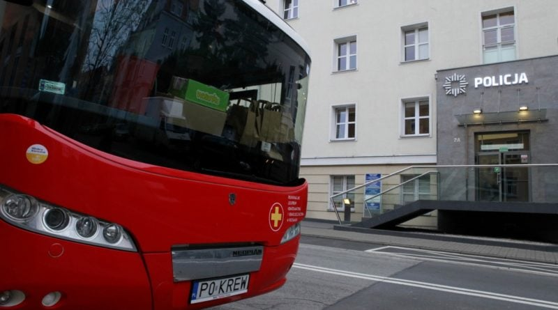 zbiorka krwi fot. policja 800x445 - Poznań: Zbiórka krwi policyjnych KREWniaków