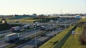 autostrada fot. ump 2 300x169 - Poznań: Kierowcy mogą już korzystać z trzech pasów autostrady