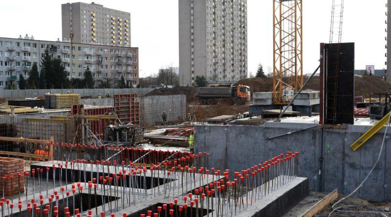 budowa plywalni na os. zwyciestwa6 fot. pim 800x445 - Poznań: Pływalnia na os. Zwycięstwa już z kamieniem węgielnym