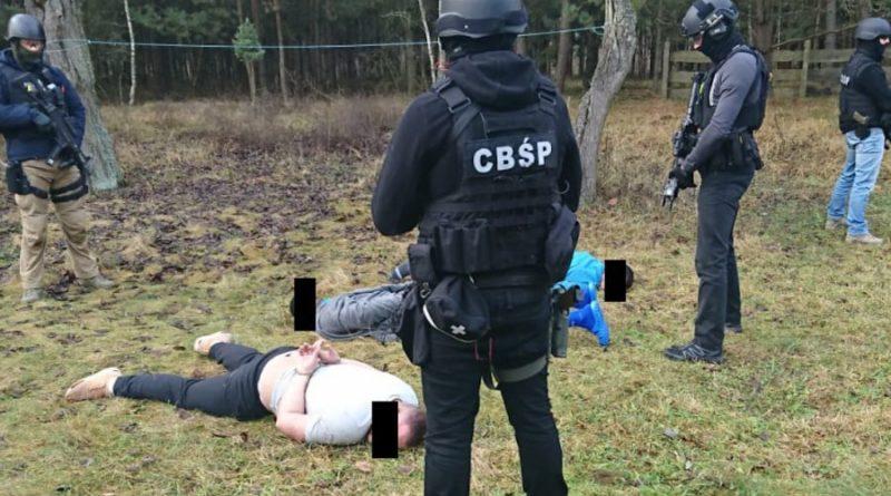 Fabryka kokainy, zatrzymania fot. Policja