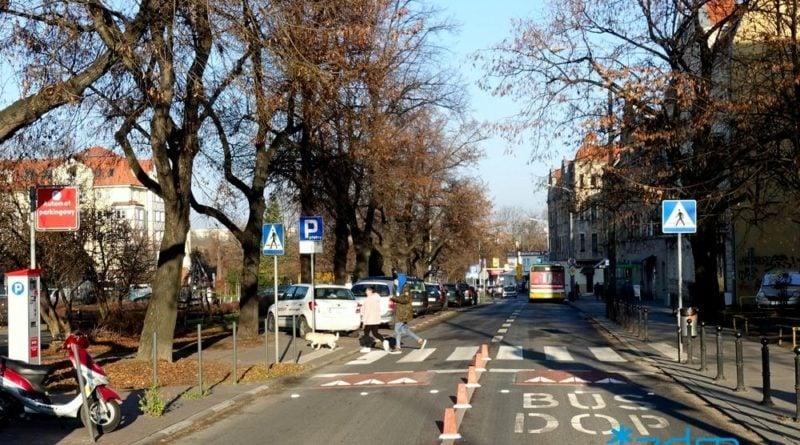 jezyce poduszki wyspowe 2 fot. zdm 800x445 - Poznań: Poduszki wyspowe na Jeżycach