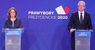 Małgorzata Kidawa-Błońska kontra Jacek Jaśkowiak fot. PO
