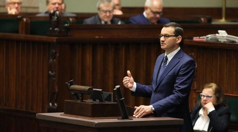 mateusz morawiecki fot. kancelaria sejmu rafal zambrzycki 800x445 - Burza w Sejmie wokół votum nieufności dla Jarosława Kaczyńskiego