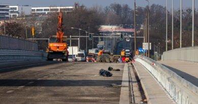 most lecha fot. slawek wachala 5 of 5 390x205 - Poznań: Korki na moście Lecha!