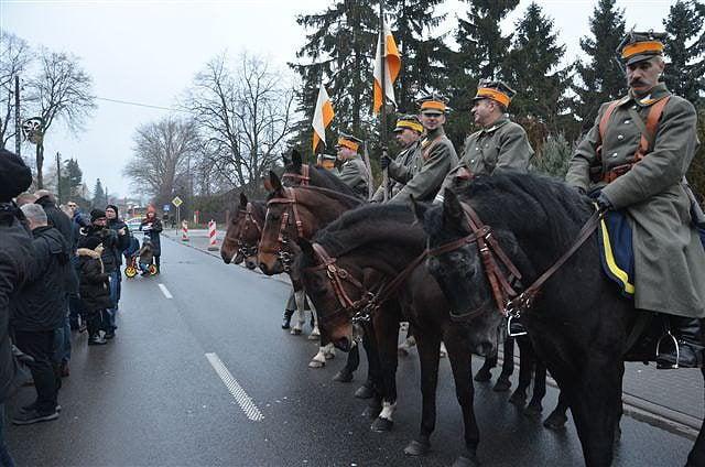 Obchody 101. rocznicy wybuchu Powstania Wielkopolskiego w Plewiskach