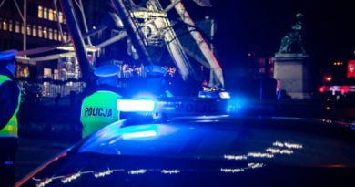 policja fot. slawek wachala 1 1 390x205 - Poznań: Utrudnienia na zachodniej obwodnicy miasta