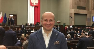 Poseł B. Wróblewski fot. FB