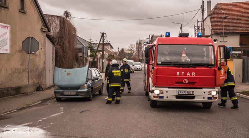 pożar fot. OSP Koźmin Wlkp.