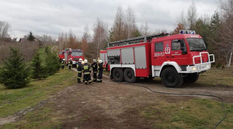 Pożar, zdjęcie ilustracyjne fot. OSP Sompolno