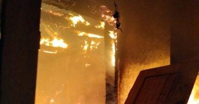 pożar fot. OSP w Golinie