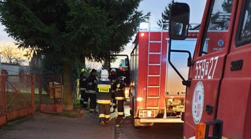 pożar fot. OSP w Wyrzysku