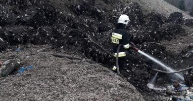 Pożar Marantowska fot. OSP Cukrownia