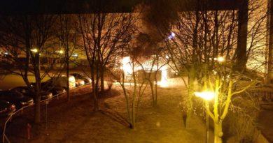 pożar Poznań fot. Wichrowe Wzgórze dla Wszystkich