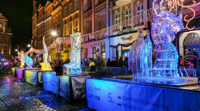 poznan ice festival konkurs glowny 11 fot. slawek wachala 800x445 - Poznań: Lodowe rzeźby i tłumy podziwiających