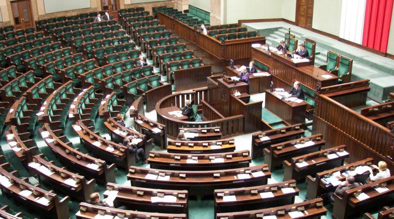 Sejm RP, sala plenarna fot. Piotr VaGla Waglowski