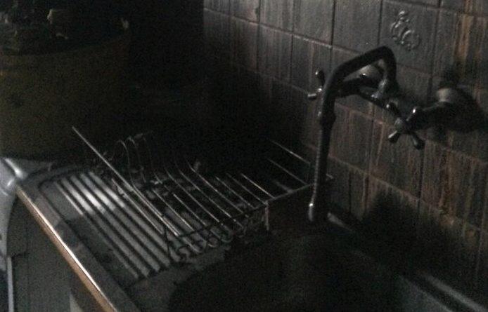 spalona kuchnia w Kluczewie, fot. UMiG Ostroróg