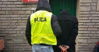 sprawcy rozboju są już zatrzymani przez policję fot. kmp