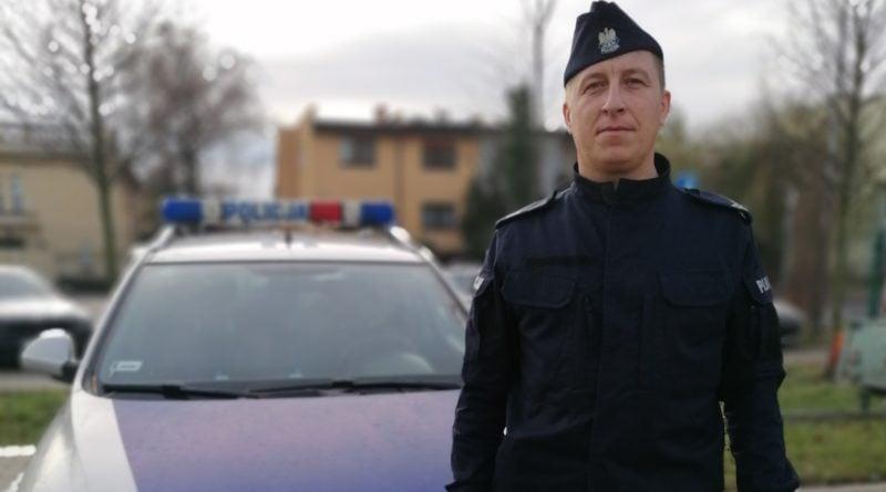 st. sierż Piotr Przybylski fot. policja
