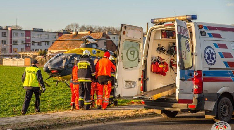 Strażacy ochotnicy w akcji 5 fot. OSP Koźmin Wlkp.