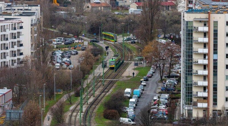 tp mpk polanka trasa kornicka tramwaj fot. slawek wachala 4 800x445 - Poznań: Awaria na Trasie Kórnickiej. Tramwaje kursują objazdami