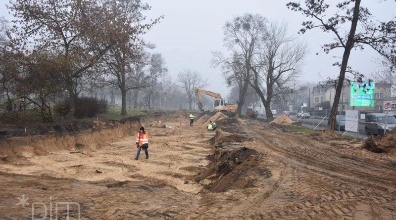 Wykopaliska park Kosynierów 1 fot. UMP