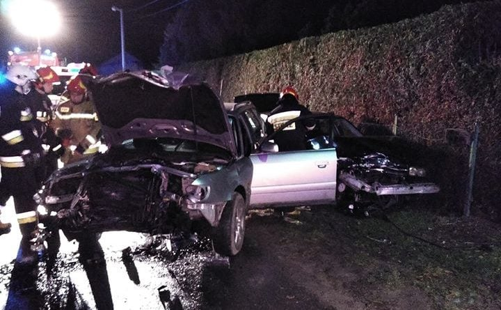 wypadek 2 fot. osp golina 720x445 - Golina: Groźny wypadek w Kraśnicy