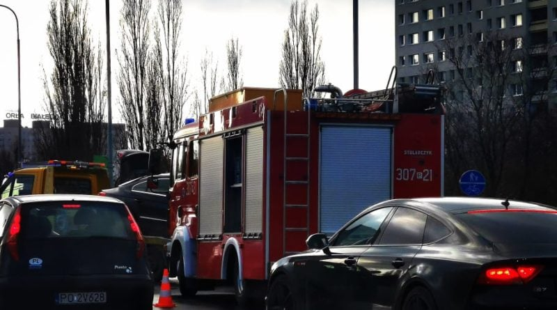 Wypadek Chartowo Piaśnicka fot. S. Wąchała