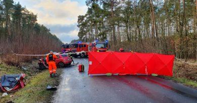 wypadek fot. Heavy Rescue SGRT OSP Mosina