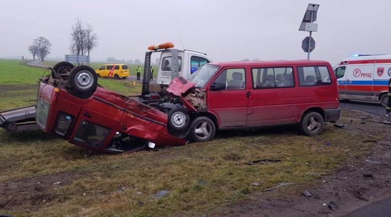 wypadek fot. OSP Kleszczewo