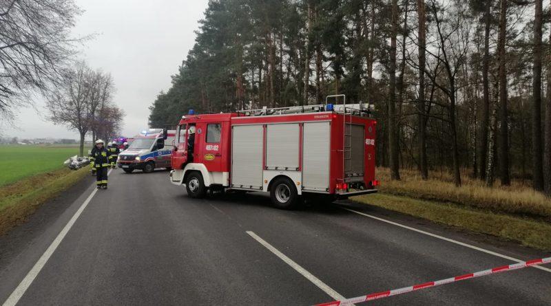 wypadek fot. OSP Kuklinów