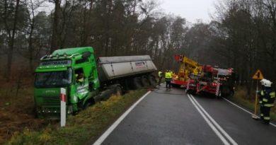 Wypadek Międzychód fot. policja