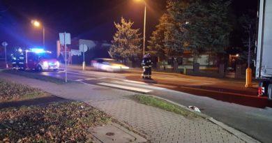 Wypadek Rakoniewice 1 fot. OSP Grodzisk Wlkp.