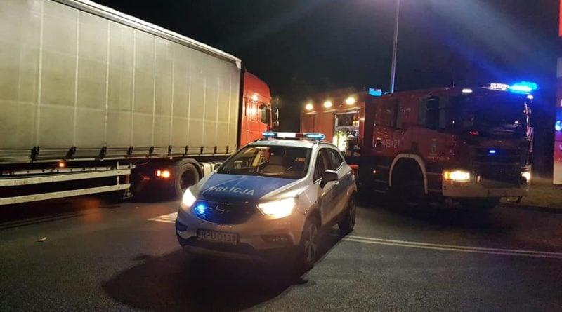 wypadek rakoniewice 3 fot. osp grodzisk wlkp. 800x445 - Rakoniewice: Tir potrącił kobietę